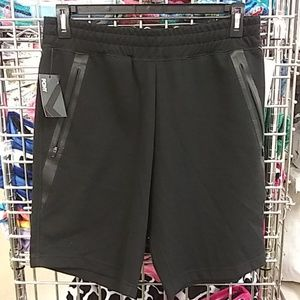 PONY brand black shorts with zippered pockets